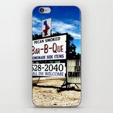 Pecan Smoked BBQ, Louisiana  iPhone & iPod Skin