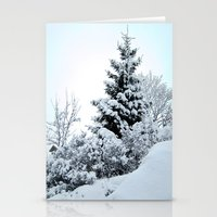 Natures Christmas Tree Stationery Cards