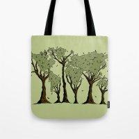 Tree World Tote Bag