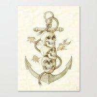 Three Missing Pirates Canvas Print