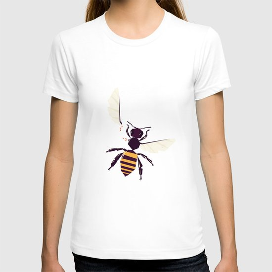 H is for honey bee  T-shirt