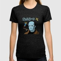 Young Frankenstein Womens Fitted Tee Tri-Black SMALL