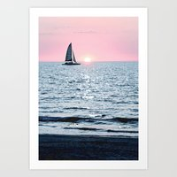 Sail Into The Sun 2 Art Print