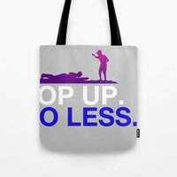Surfing Lesson Tote Bag