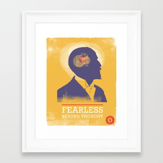 Fearless: Beyond Thought Framed Art Print
