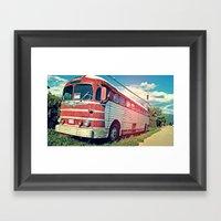 Roadie Framed Art Print