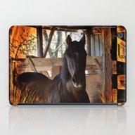 Fire Horse iPad Case