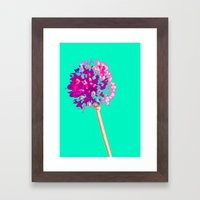 Flower II Framed Art Print