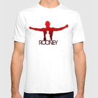 T-shirt featuring Wayne Rooney by Sport_Designs