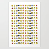 Coins, Boxes And Power U… Art Print