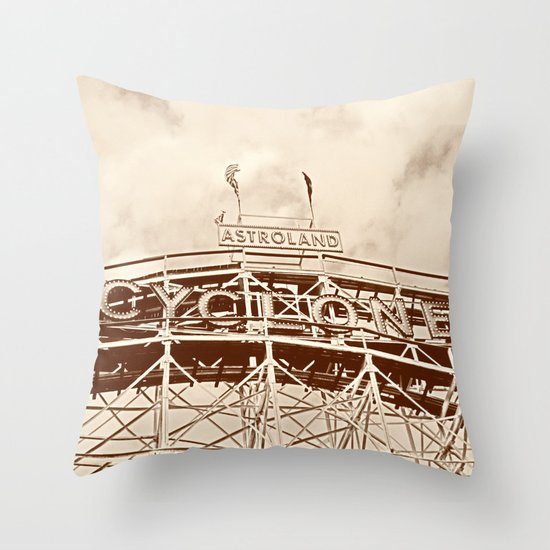 Cyclone Throw Pillow