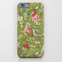 Painted Floral iPhone 6 Slim Case