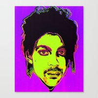 Prince / Warhol Remix Canvas Print