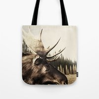 Tom Feiler Moose Tote Bag