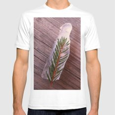 Green in Ice Mens Fitted Tee White SMALL
