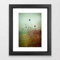 A Dense Fog Surrounded Her Framed Art Print