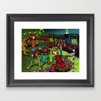 Glastonbury 2013 Framed Art Print