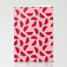 Watermelon Print Pattern… Stationery Cards