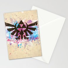 Splash Triforce Emblem Stationery Cards