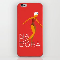 Nadadora iPhone & iPod Skin