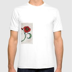 Spread Love White Mens Fitted Tee SMALL