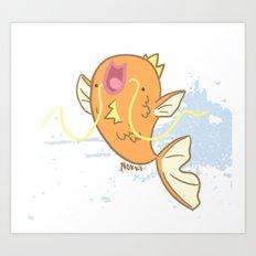 Magikarp- Pokemon Art Print