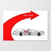 RennSport Speed Series: … Canvas Print