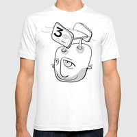 Will Will Mens Fitted Tee White SMALL