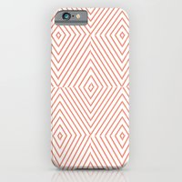 Red Stripes iPhone 6 Slim Case