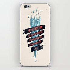 warming hoax iPhone & iPod Skin