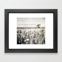 From Humble Beginnings C… Framed Art Print