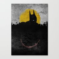 Night of Justice Canvas Print