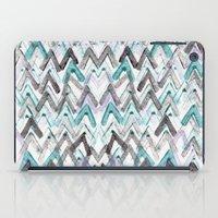 ZigZag Blue iPad Case