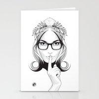 SHHHHH! Stationery Cards