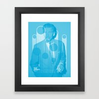 Test Pattern Framed Art Print