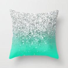 Glitteresques XXXV Throw Pillow