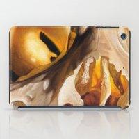 close up skull 2 iPad Case