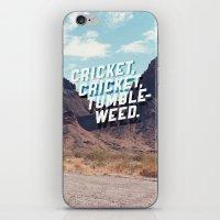 Cricket, Cricket, Tumble… iPhone & iPod Skin