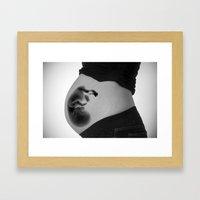 Fetus Framed Art Print