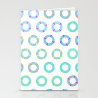 COLOR OF FLOAT Stationery Cards