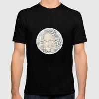 Optical Illusions - famous works of art 1 Mens Fitted Tee Black SMALL