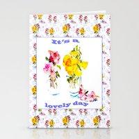It's a Lovely Day Stationery Cards