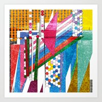 Graphic Bordello Art Print
