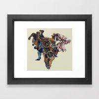 Ashes In The Arteries Framed Art Print