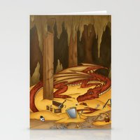 Smaug, the last dragon Stationery Cards