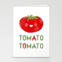 Tomato-Tomato Stationery Cards