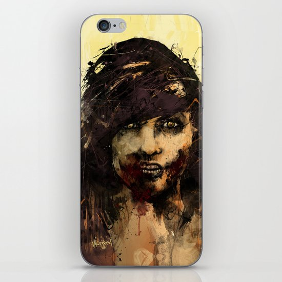 Female Zombie iPhone & iPod Skin
