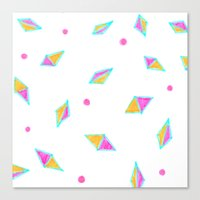 Gems Of Pink And Gold Canvas Print