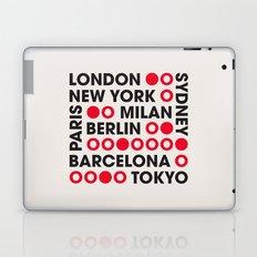 I Love This City Typography Laptop & iPad Skin