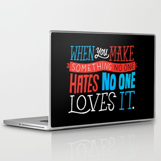 No One Loves It. Laptop & iPad Skin